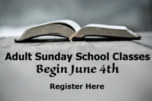 Adult Sunday School Electives